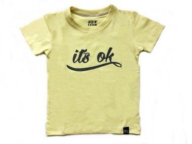 Camiseta Its ok - Amarela