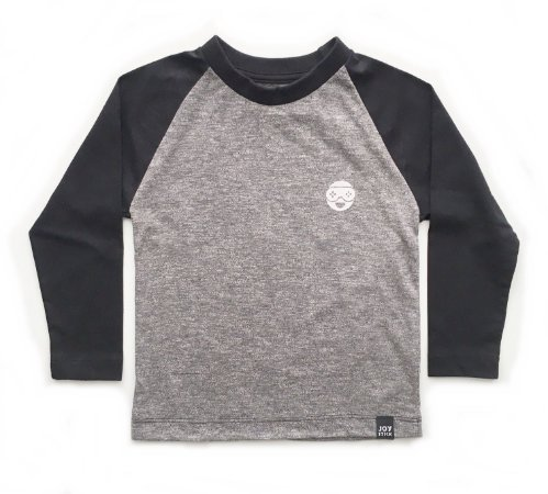 Camiseta Bryan - cinza mescla