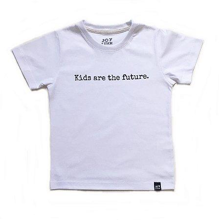 Camiseta Kids are The Feature - branca