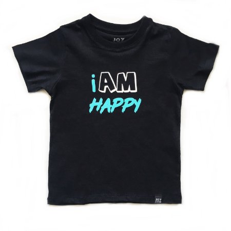 Camiseta  I am happy
