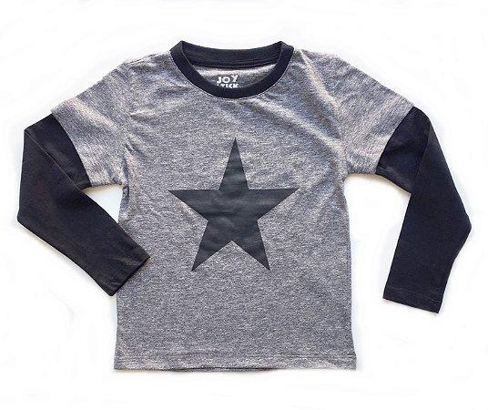 Camiseta Future starts here - cinza
