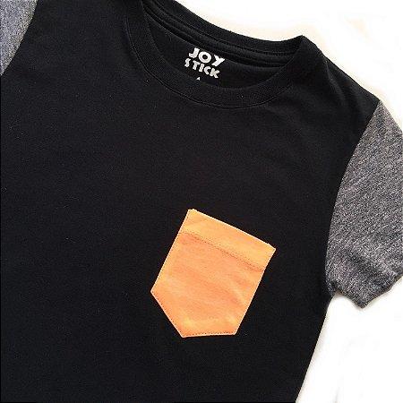 Camiseta Duo preta - baby
