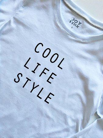 Camiseta manga longa - Cool life style - branca