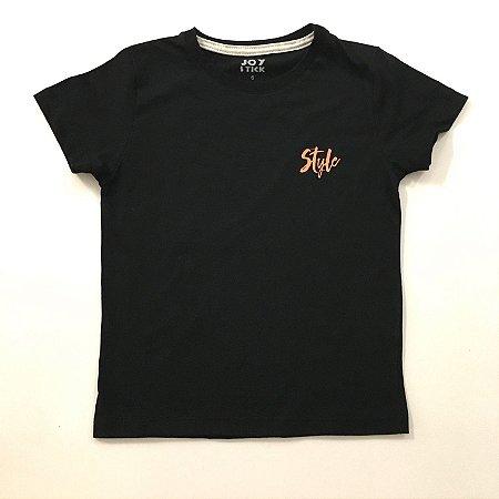 Camiseta Style - preta