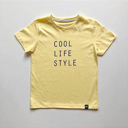 Camiseta Cool - amarela