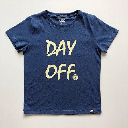 Camiseta Day Off - azul