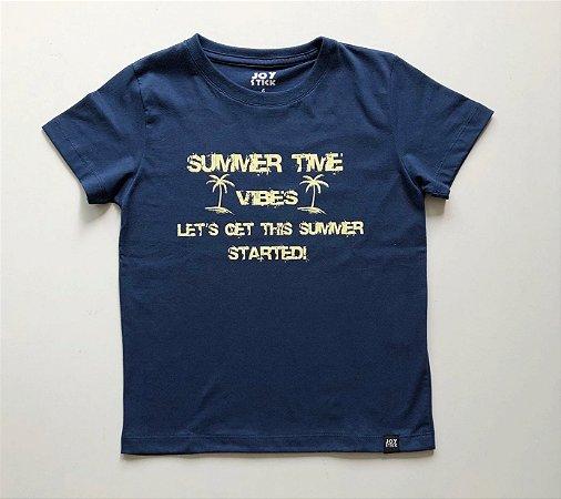 Camiseta Summer time -azul