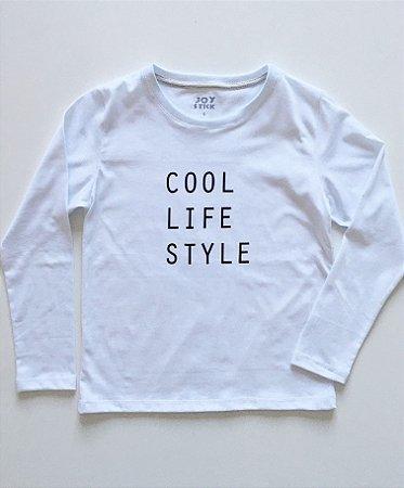 Camiseta cool - branca