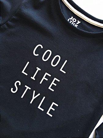 Camiseta cool -preta