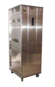 Armário de Pão Inox 304 Completo 58x68 cm