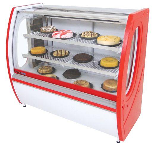 Vitrine Refrigerada para Torta Premium