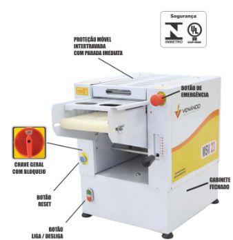 Modeladora de Pão 350 mm