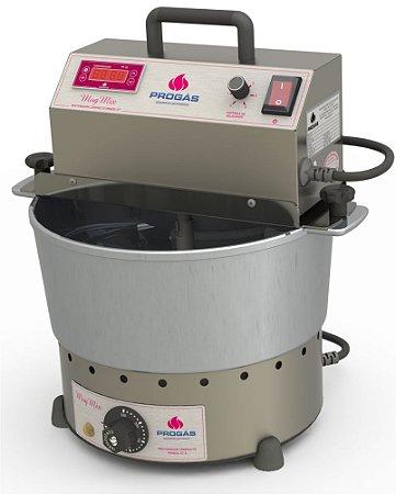 Misturador Bivolt Portátil Mogmix Prmog-07 7 litros Aquecimento A Gás Progás