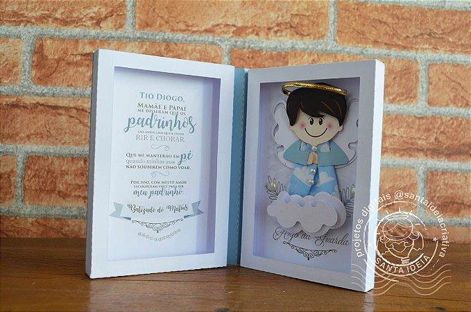 Kit de Caixas Convite Padrinhos