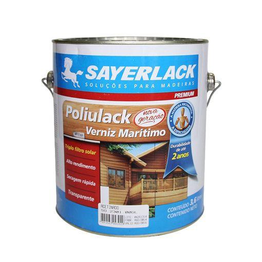 Verniz Marítimo Sayerlack Poliulack  - 3,6 litros