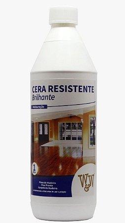 Cera Resistente W&W Brilhante e Acetinada - 1L