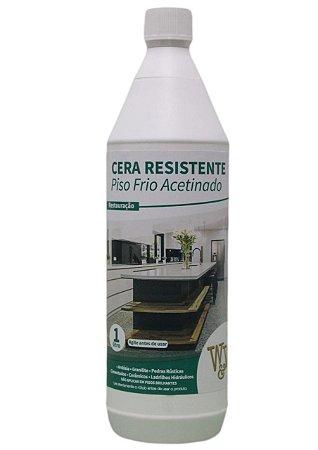 Cera Resistente W&W Piso Frio Brilhante e Acetinada - 1L