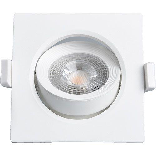 Spot Embutir 7W LED 3000K Quadrado LEDBEE