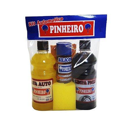 Kit Automotivo de Limpeza Pinheiro 6p