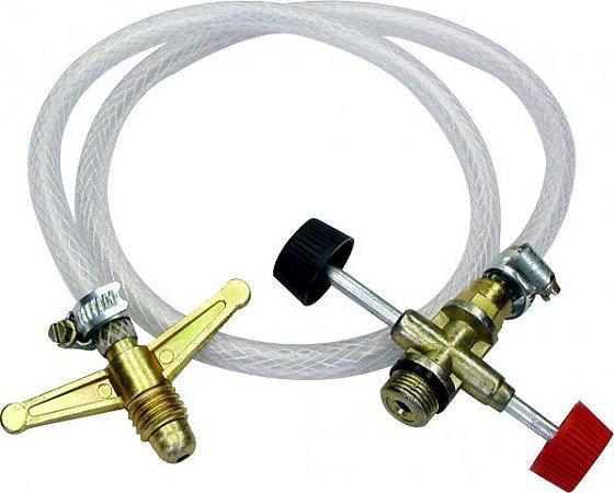Transferidor Gas Max-Chamas de 13Kg para 2Kg
