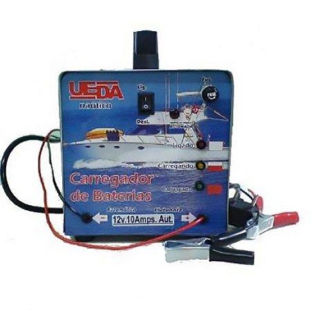 Carregador De Bateria Ueda 10A 12v Automático 9081