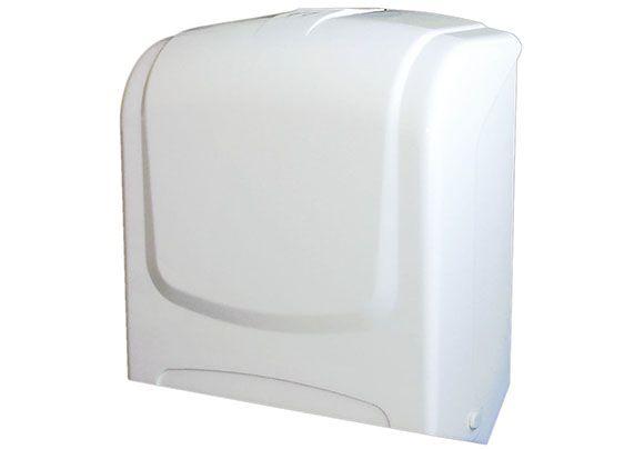 Dispenser p/ Papel Toalha Interfolhas PLESTIN Branco