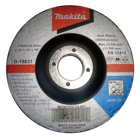 Disco Desbaste Ferro 7x1/4x2tx7/8 Makita