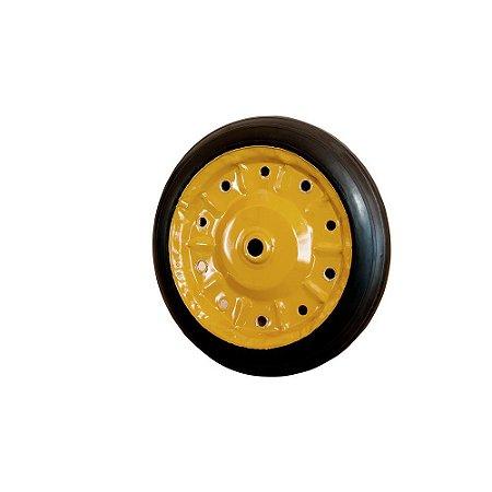 """Roda p/ Carrinho de Mão 3.25 x 8"""" Completa"""