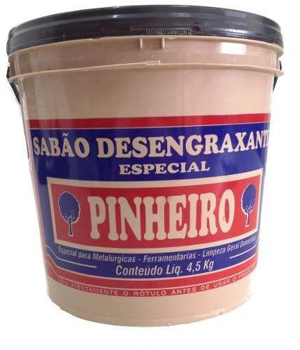 Pasta Sabão Desengraxante Pinheiro 4,5Kg