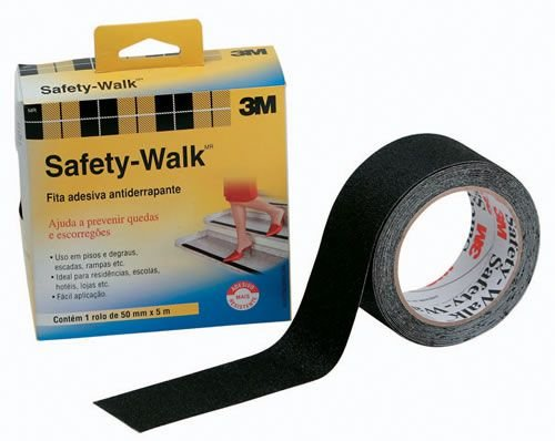 Fita Antiderrapante Preta 50mm x 5m Safety-Walk 3M