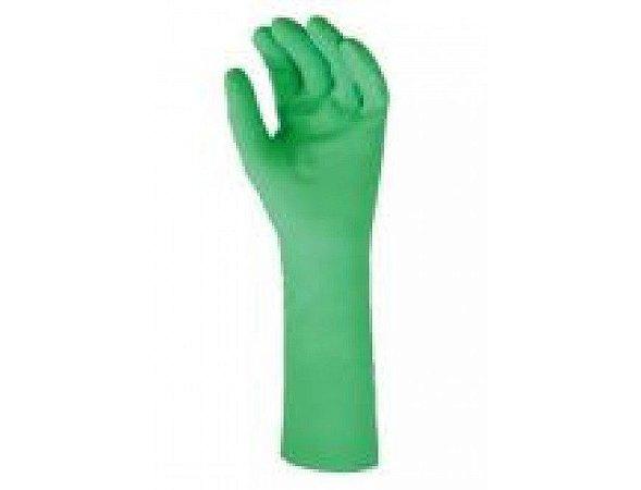 Luva Nitrílica Verde Par Tamanho G Mucambo