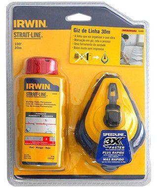 Kit Giz de Linha Azul 30mt Irwin - AZ4495 Refil
