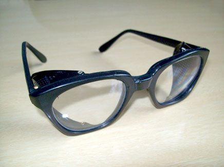 Óculos de Proteção c/ Lentes de Vidro Oftálmico Incolor – Haste Total