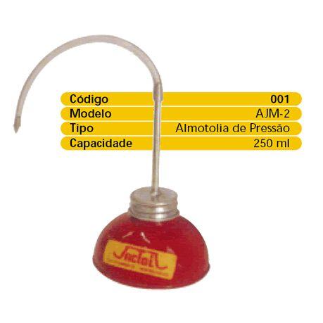Almotolia Pressão AJ1 250ml Jactoil