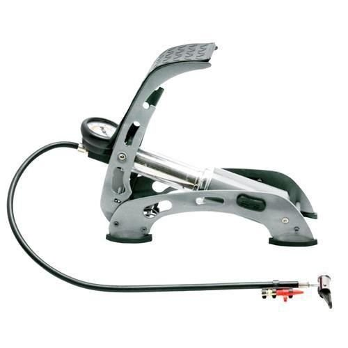 Bomba Ar c/ Pedal p/ Encher Pneus - PREMIUM Brasfort 8419