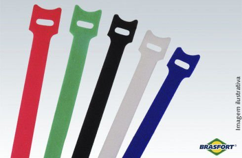 Abraçadeiras Auto Fixáveis Coloridas - 330 mm x 14 mm 5pç