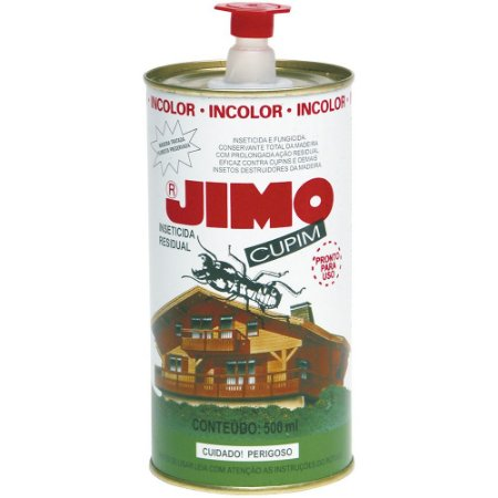 Mata Cupim JIMO Inseticida Controle Pragas 500ml Lata