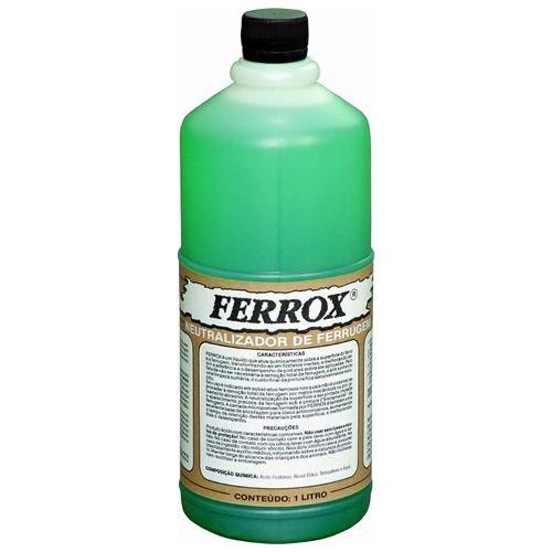 Removedor Neutralizador De Ferrugem Ferrox 1 L