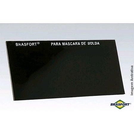 Vidro Para Máscara De Solda Retangular N° 14 - Brasfort