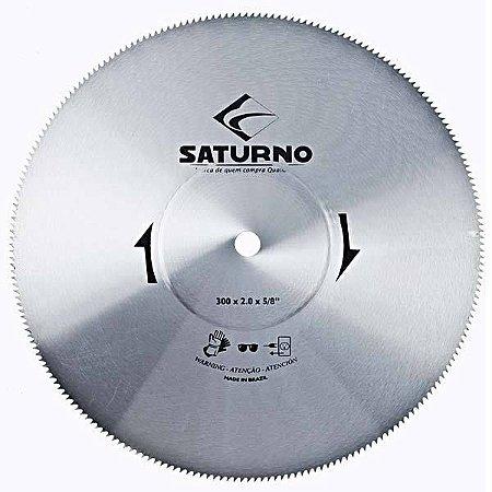 Serra Circular Corte Alumínio 250x2,0mm Furo 3/4pol Saturno