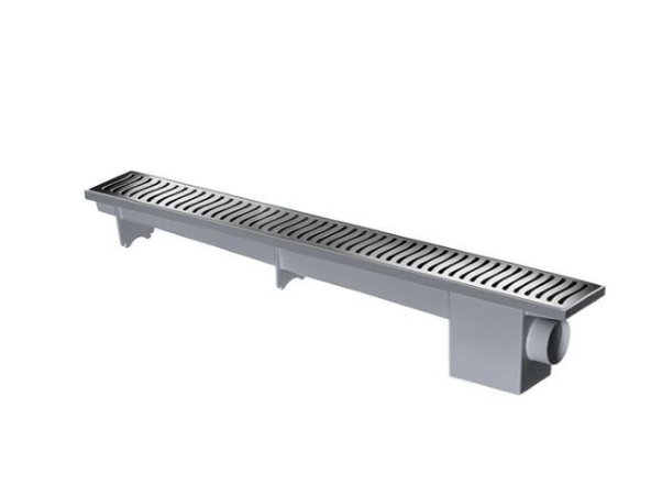 Ralo Linear Modulável Sifonado 70cm Cromado - Herc