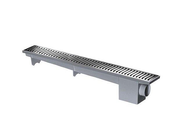 Ralo Linear Modulável Sifonado 50cm Cromado - Herc