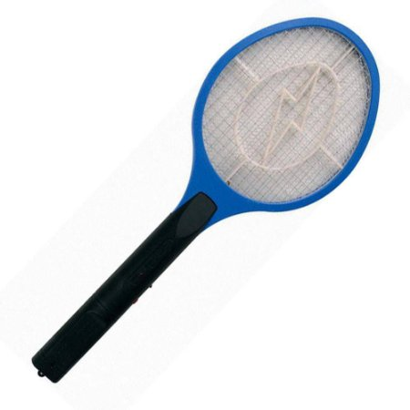 Raquete Elétrica Mata Mosquitos - para 2 pilha AA LIGHTEX