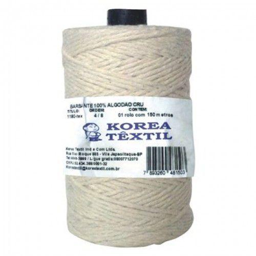 Barbante De Algodao Korea 4/8 310mt