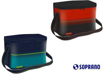 Bolsa Térmica Pop 18lt Vermelho Ou Azul Soprano