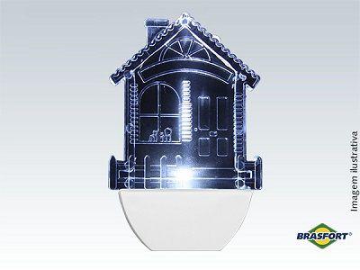 Abajour Luz Noturna Led Casa Infantil 110 Ou 220V