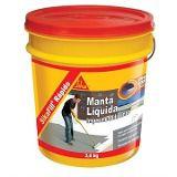 Manta Liquida Sikafill Rápido Branco Ou Cinza 15kg