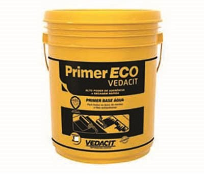 Primer Eco Vedacit 18lt Base Agua Manta Asfaltica Adesiva