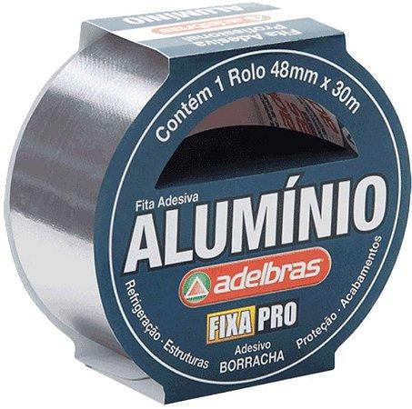 Fita De Alta Resistencia Aluminium Tape 48mmx30mts
