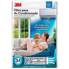 Filtro Para Ar Condicionado 3M Split